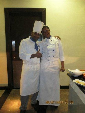 Iberostar Grand Hotel Rose Hall : Randel/Latoya
