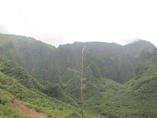Kalalau Trail: Great views with mulitple waterfalls