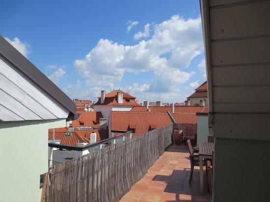 Residence Karlova - Prague City Apartments: Rooftop terrace