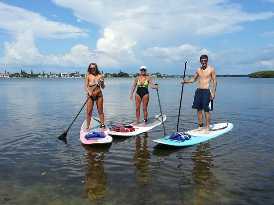 Sarasota Paddleboard Company: Summer sky