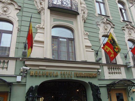 Helvetia Deluxe Hotel: Aanzicht van het hotel