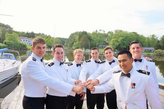 Bay Cottage Bed & Breakfast : Naval Academy Ring Dance 2014 at Bay Cottge
