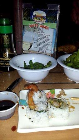 Mangos Dockside Bistro: Sushi
