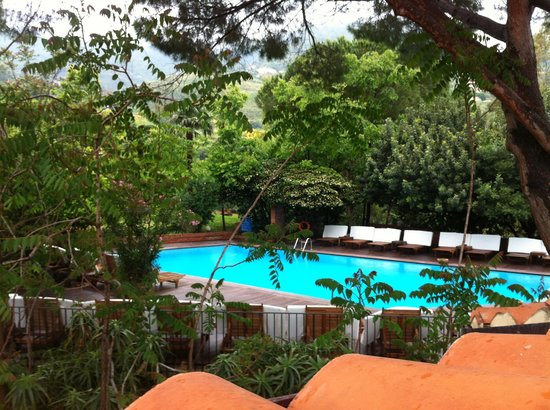 Hotel Alberi Del Paradiso : View of pool from rm 315