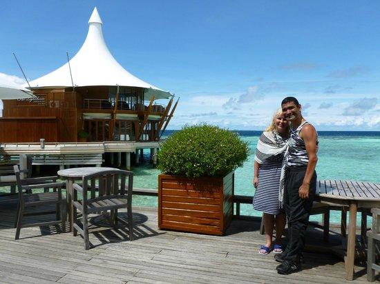 Baros Maldives: Taken from Lime Restaurant