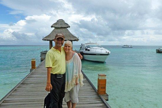 Baros Maldives: Leaving via private yacht transfer