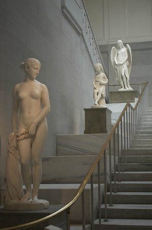 Corcoran Gallery of Art: Along the stairs in the main entry