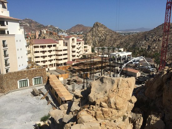 Grand Solmar Land's End Resort & Spa: Our view from the first room...