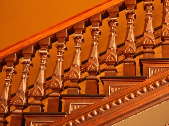 Capitol Building: Beautifully Carved Staircase Balusters