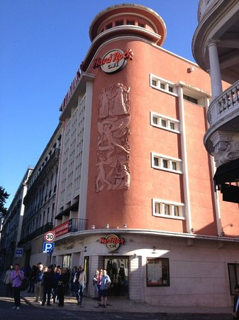 Inside Lisbon Tours : Meeting point no Hard Rock Lisboa