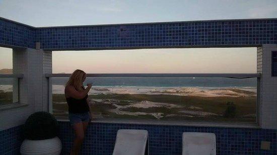 Hotel Balneario Cabo Frio : area hotel