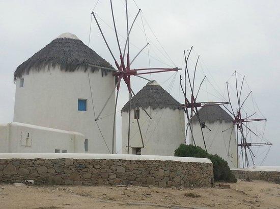 Ilio Maris Hotel : los molinos de Mykonos
