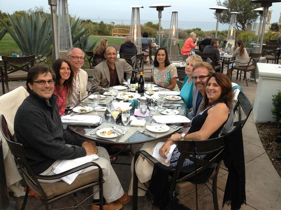 The Ritz-Carlton Bacara, Santa Barbara: Sunset Dinner at The Bistro Restaurant