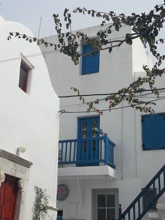 Ilio Maris Hotel : Callecitas de Mykonos
