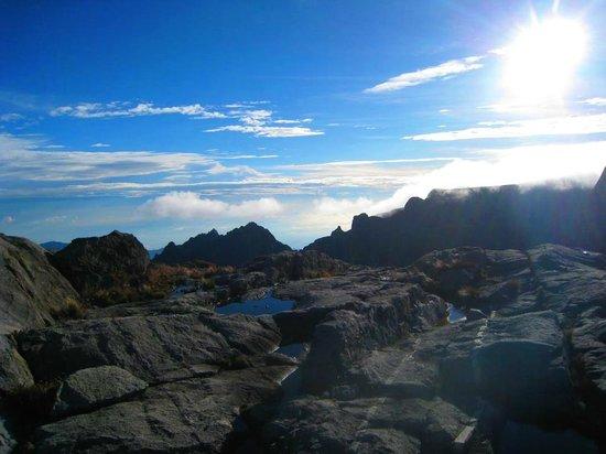 Mount Kinabalu: view
