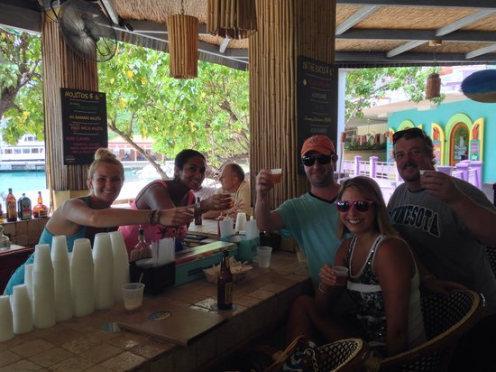 Joe's Rum Hut: I think this was the day before Garbo's bday!!!!