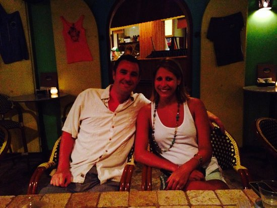 Joe's Rum Hut: Best bar in Cruz Bay!