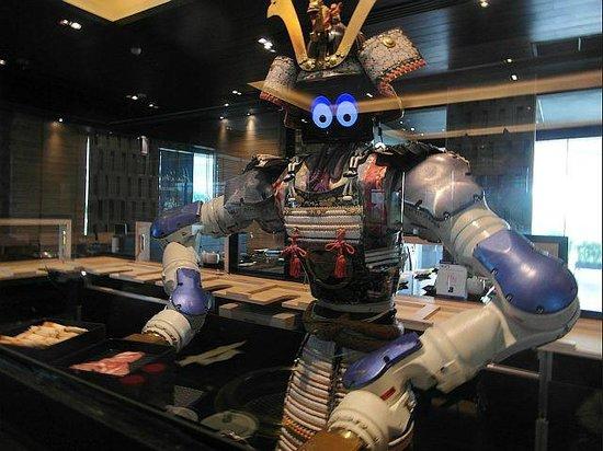 Robot Waiter - Picture of Hajime Robot Restaurant - Rama 3