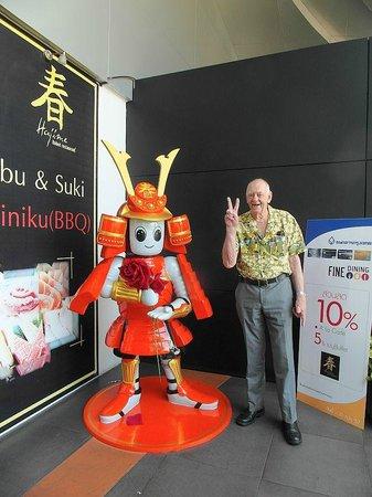 Hajime Robot Restaurant - Rama 3: outside entrance