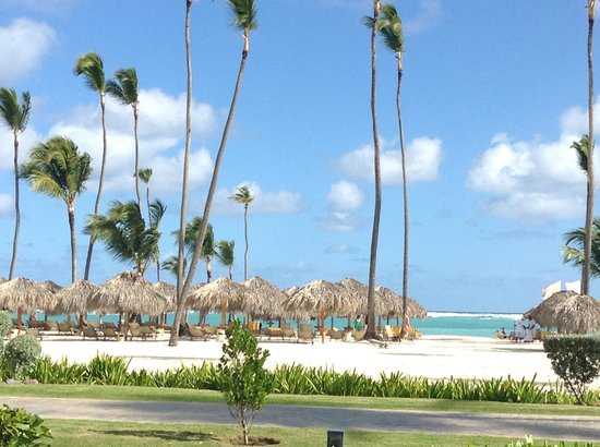 Iberostar Grand Hotel Bavaro: View while having breakfast