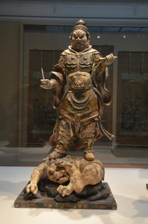Smithsonian Institution Freer Gallery of Art and Arthur M. Sackler Gallery : A demon being vanquished