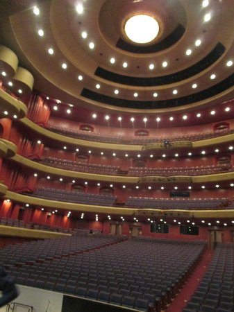Seoul Arts Center: the opera house from the stage
