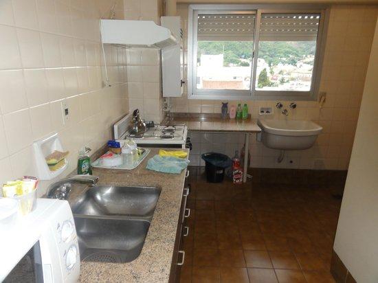Apartho Dean Funes: cocina