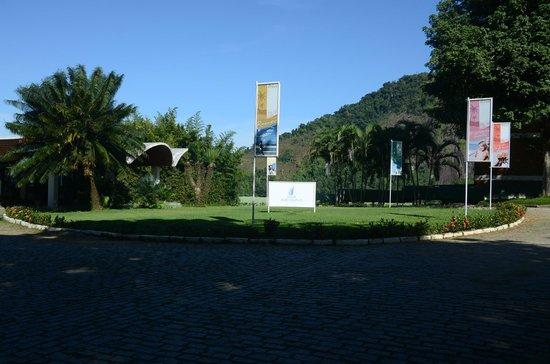 Portogalo Suite Hotel: Área de entrada do Hotel, recepção.