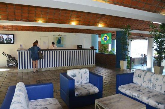 Portogalo Suite Hotel: Recepção.