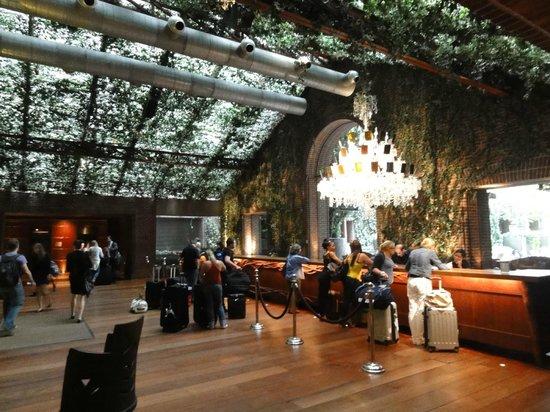 Hudson Hotel New York : lobby