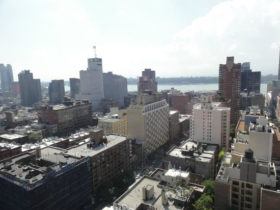 Hudson Hotel New York : vista do quarto