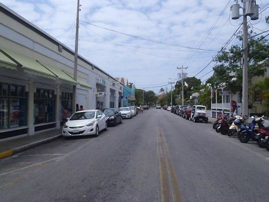 Duval Street: vista rua