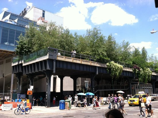 CityRover Walks NY : The Cut Off of the Highline Park