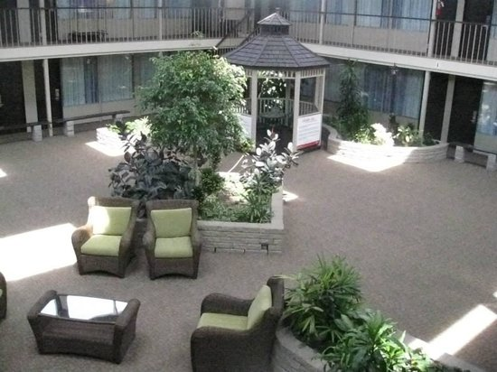 Skyline Hotel & Waterpark: Courtyard