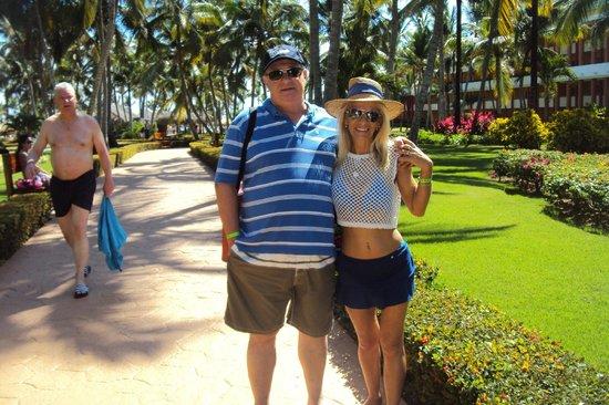 Iberostar Dominicana Hotel : Pasillos en el hotel que te llevan a diferentes sectores