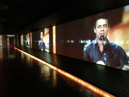 Museu da Lingua Portuguesa: Corredor...