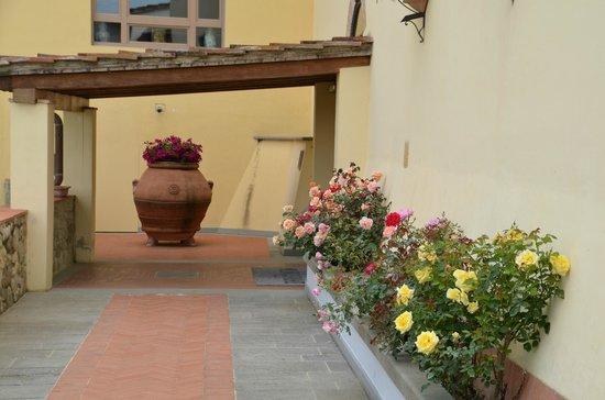 Hotel Mulino di Firenze: courtyard