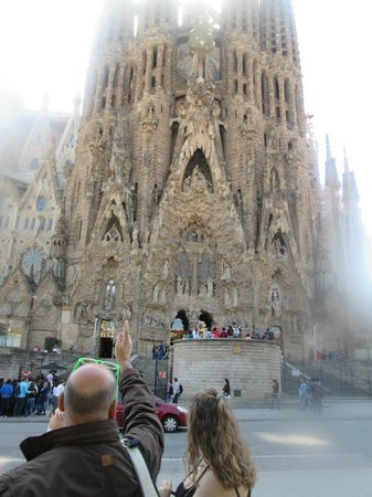 Sagrada Família : Fachada
