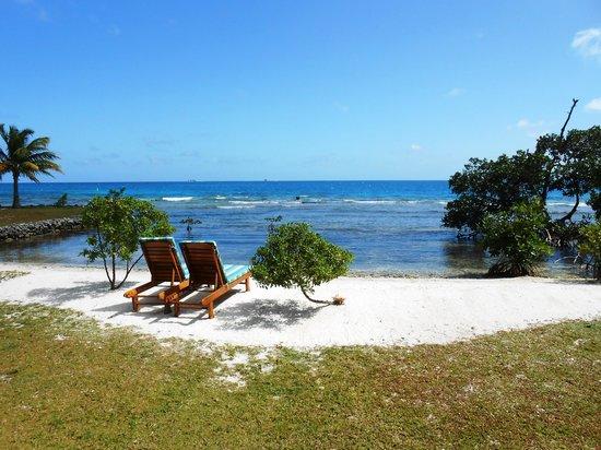 "Hatchet Caye Resort: ""our"" beach again"