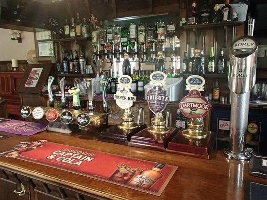 Abbey Inn: Real Ale on tap