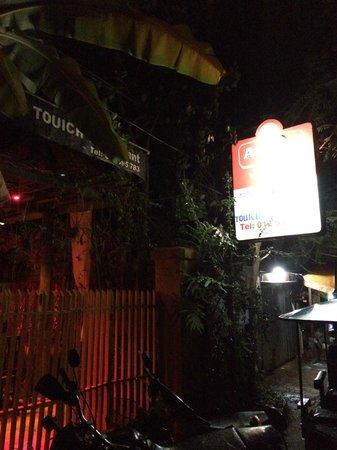 The Touich Restaurant Bar: Resturant entrance
