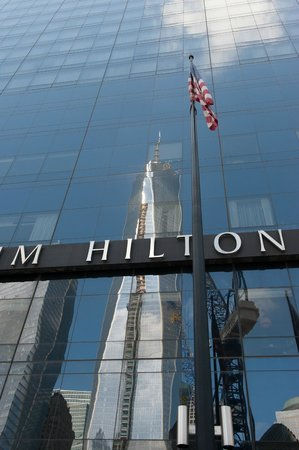 Millennium Hilton New York Downtown: Millenium Hilton and New 1 World Trade Center Tower