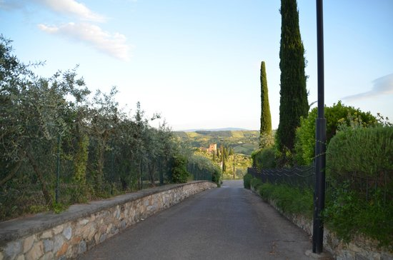 Relais Santa Chiara Hotel: hotel is situated on this small lane