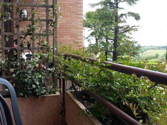 Relais Santa Chiara Hotel: very small, but very lovely balcony