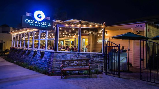 Ocean Grill: Located at 268 Front street in Avila Beach overlooking the ocean.