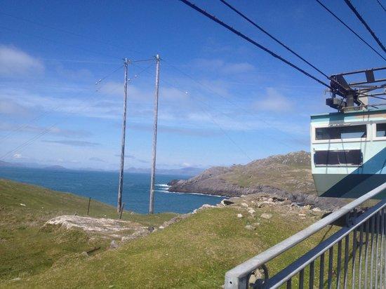 Dursey Island: the cable car