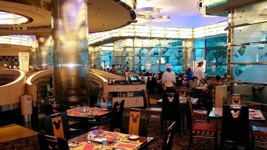 Disney's Hollywood Hotel : Chef Mickey Restaurant