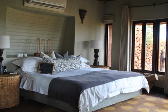 Madikwe Safari Lodge : Bedroom