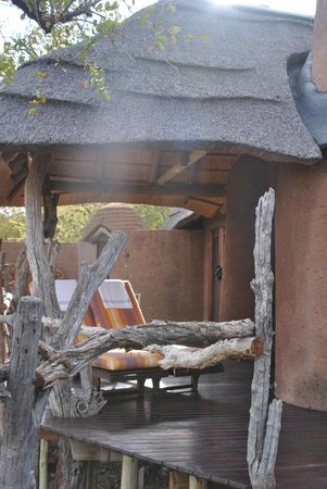 Madikwe Safari Lodge : balcony