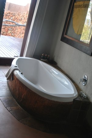 Madikwe Safari Lodge : bath